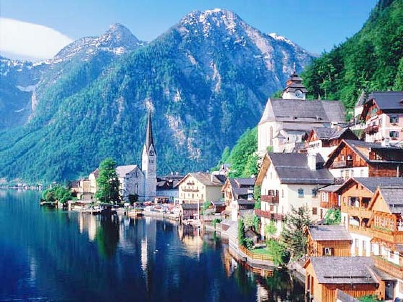 Airline tickets to Austria